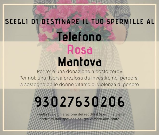 Telefono Rosa Mantova-5permille